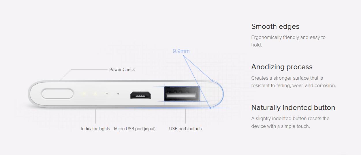 Xiaomi 5000 Mah Power Bank Price In Bangladesh