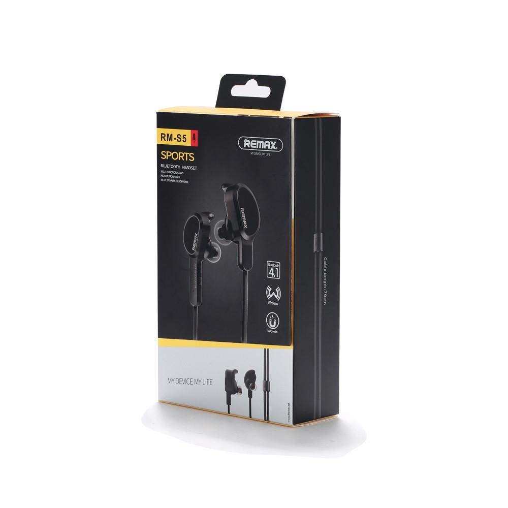 Remax RB-S5 Bluetooth Headphones Sports Locker Shape Headphone