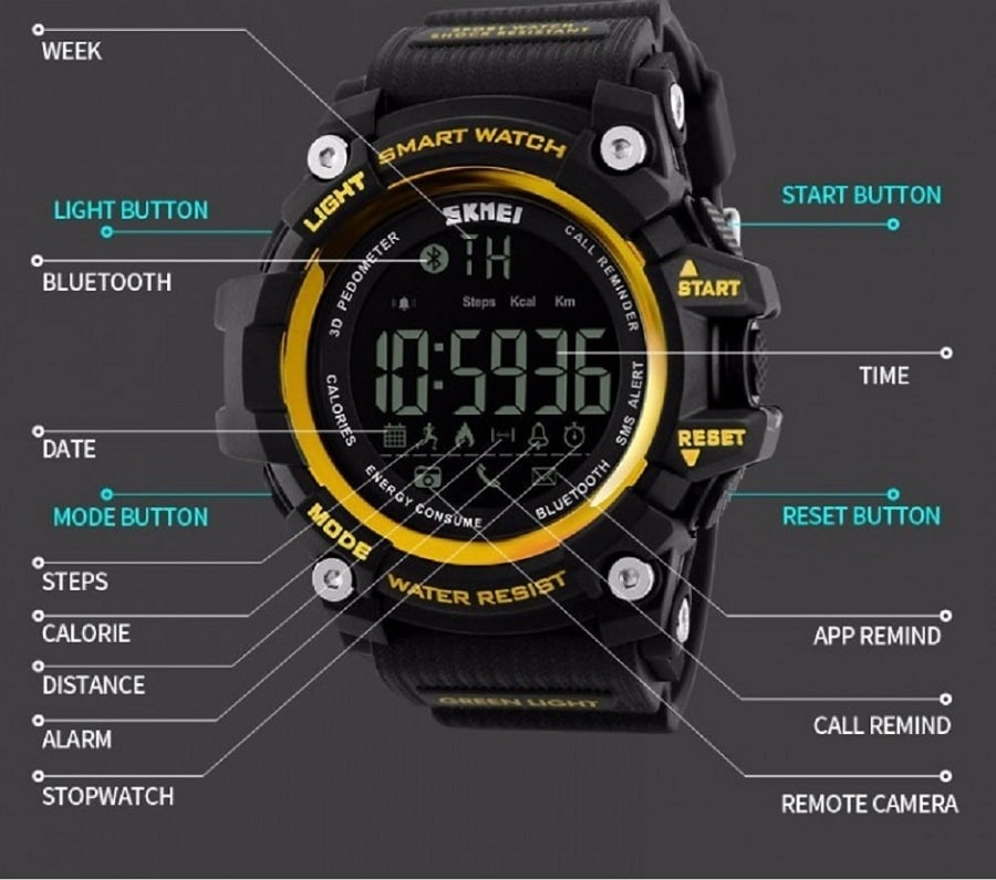 Skmei 1227 Smart Watch Price In Bangladesh Source Of Product