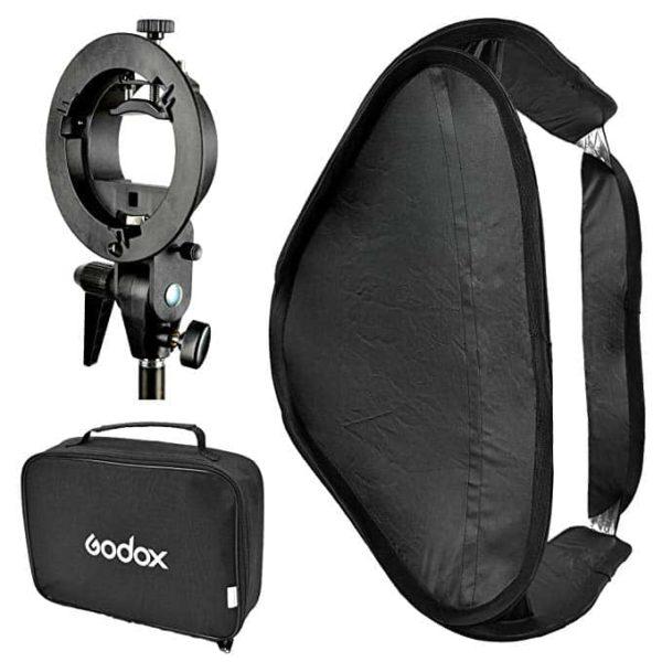 Godox 60x60 with s-mount SOP