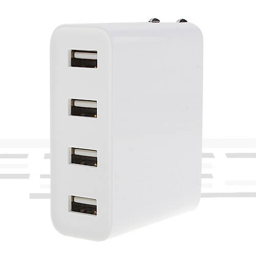 Xiaomi Mi Usb Charger 4 Ports White At Best Price In Bd