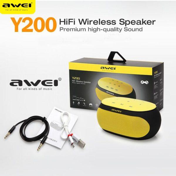 AWEI Y200 Wireless Bluetooth Speaker-01