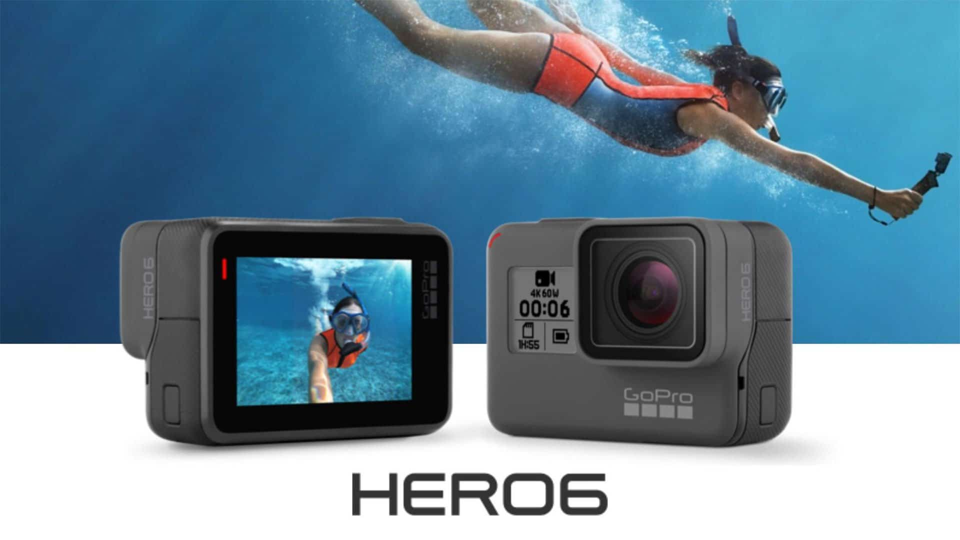 GoPro Hero 6 Caption Waterproofing