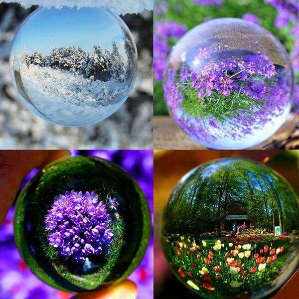 Photography Lensball 80mm 4 Caption