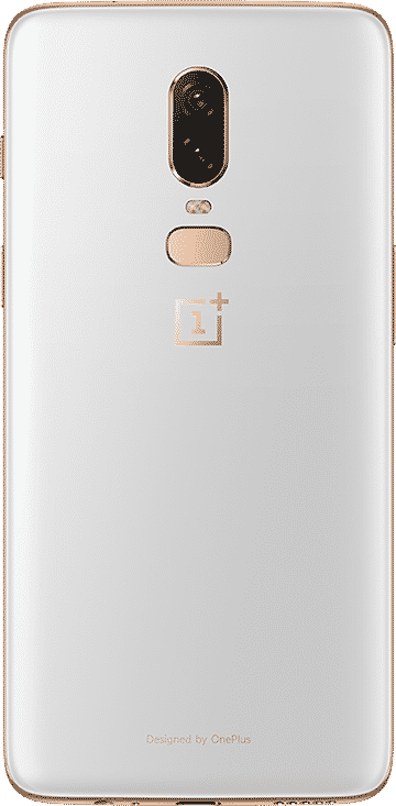 OnePlus 6 back white