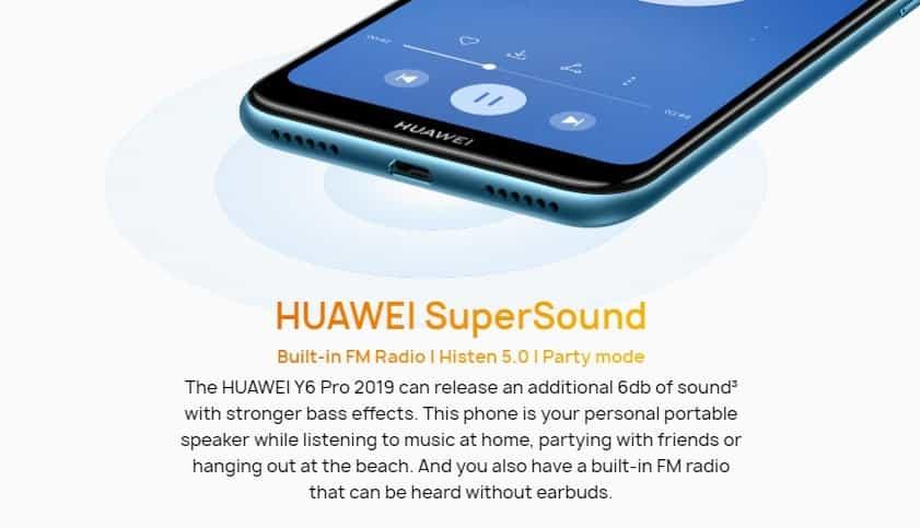 Huawei Y6 Pro Stock Rom