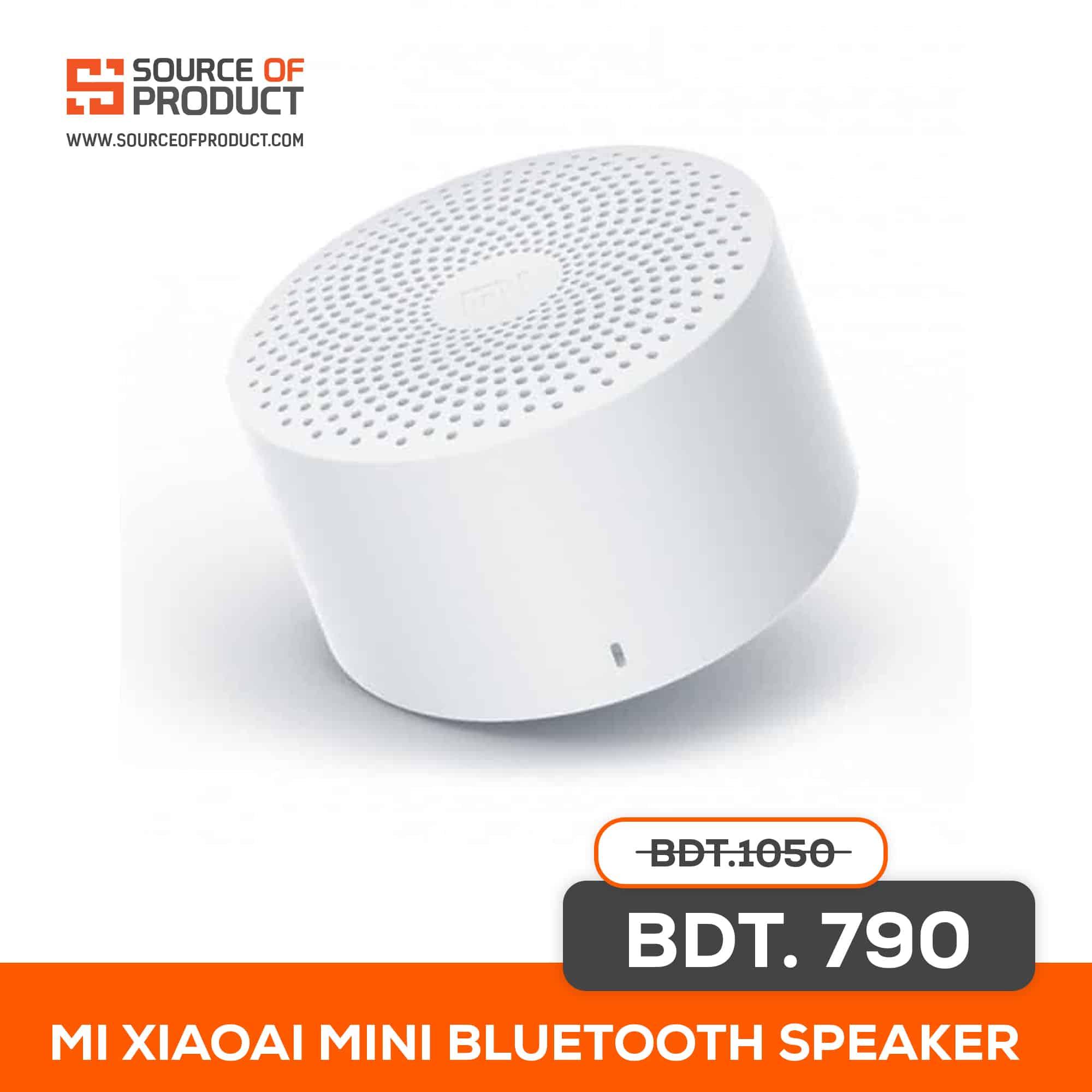 Mi Xiaoai Mini Bluetooth Speaker Price In Bangladesh Source Of Product