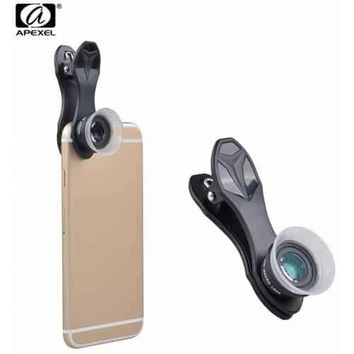 Apexel 12x-24x Macro Lens for SmartPhone SOP