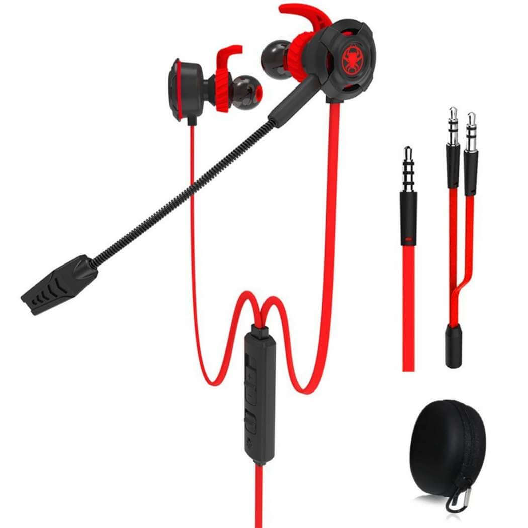 Plextone G30 Gaming Headset With Microphone-Red