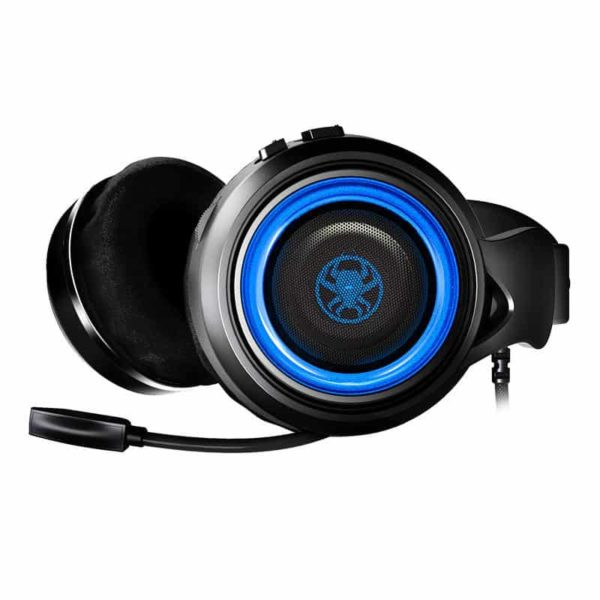 PLEXTONE G600 Gaming Wired Dynamic Headphone LED SOP