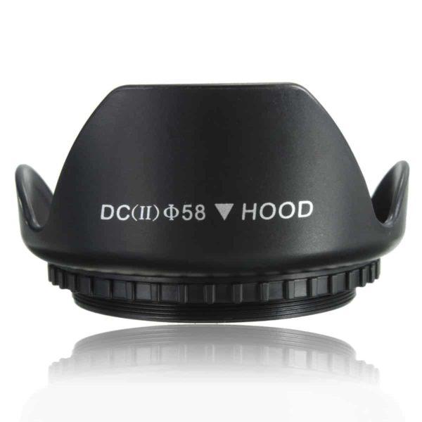 58mm lens hood half SOP