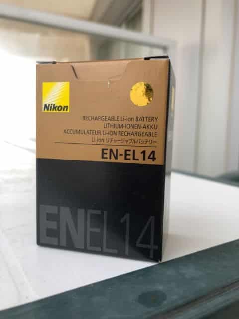 Nikon EN-EL14 Rechargeable Li-ion Battery SOP