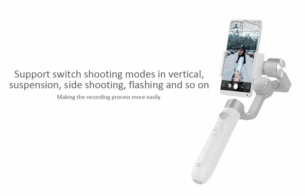 Xiaomi Mijia Handheld Gimbal Stabilizer SOP