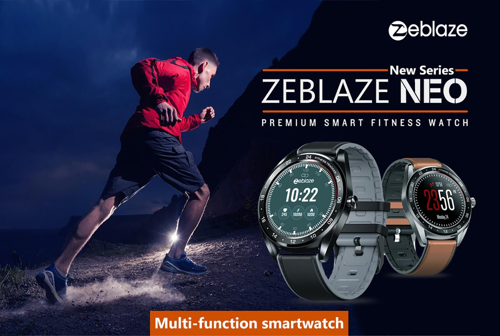 Zeblaze NEO Full-round Touch Screen Smart Watch SOP