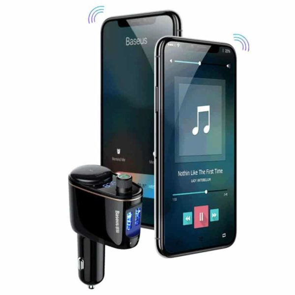 Baseus Locomotive Bluetooth MP3 Car Charger SOP