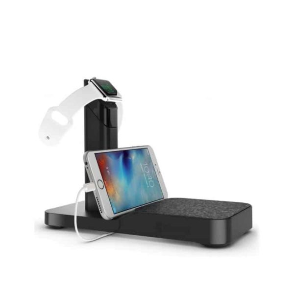 Griffin WatchStand Powered Charging Station for Apple Watch & iPhone SOP