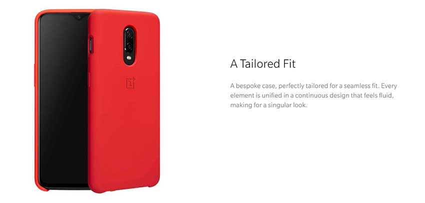 OnePlus Original Silicone Protective Back Case SOP