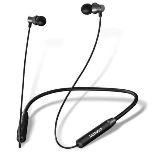 Lenovo HE05 Bluetooth Magnetic Neckband Earphones IPX5 Waterproof SOP
