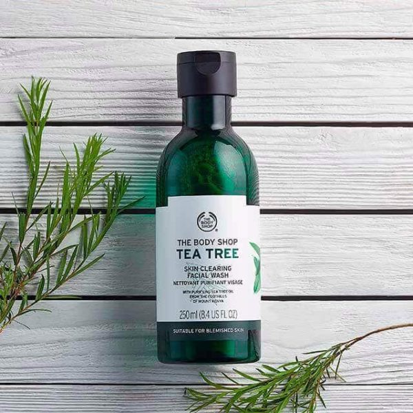 Tea Tree Skin Clearing Facial Wash SOP