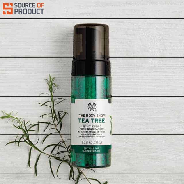Tea Tree Skin Clearing Foaming Cleanser SOP